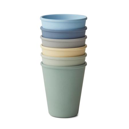 Slika za  Liewood® Set 6 čašica Carter Peppermint Multi Mix