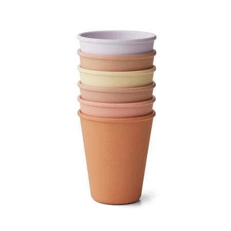 Slika za  Liewood® Set 6 čašica Carter Light Lavender Multi Mix