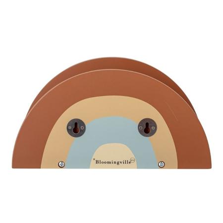 Bloomingville® Polica u obliku duge Brown