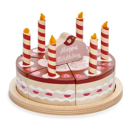 Tender Leaf Toys® Čokoladna rođendanska torta Chocolate birthday cake