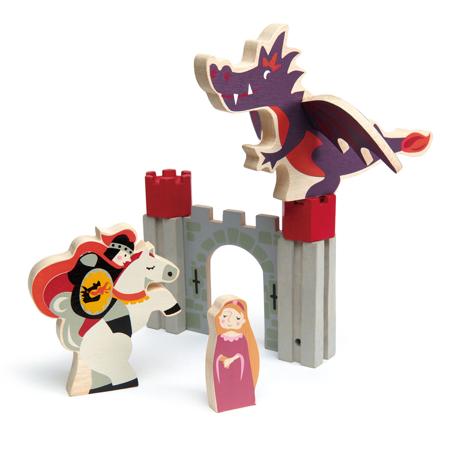 Slika za Tender Leaf Toys® Pustolovije viteza i zmaja