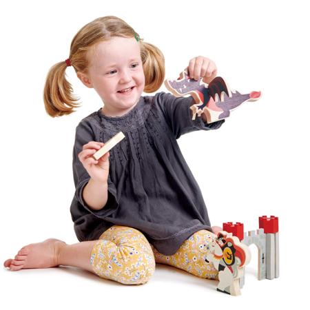 Tender Leaf Toys® Pustolovije viteza i zmaja