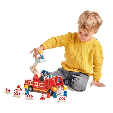 Tender Leaf Toys® Vatrogasni kamion Fire