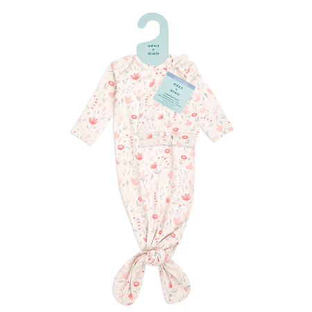 Aden+Anais® Poklon paket Vreća za spavanje i kapica Comfort Knit (0-3M) Perennial