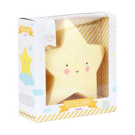 A Little Lovely Company® Mini lampica Zvjezdica Yellow