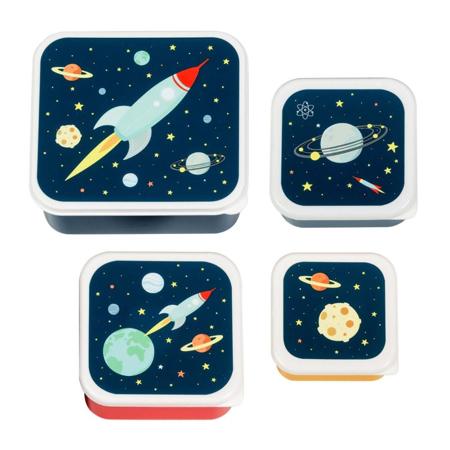 A Little Lovely Company® Kutijice za užinu i grickalice Space