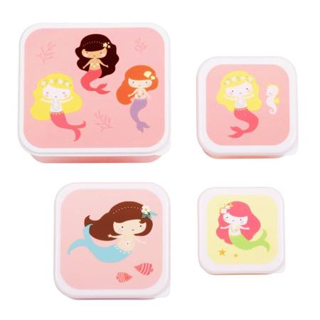 A Little Lovely Company® Kutijice za užinu i grickalice Mermaids