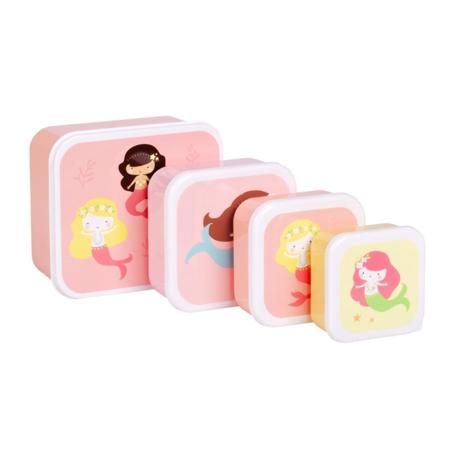 Slika za A Little Lovely Company® Kutijice za užinu i grickalice Mermaids