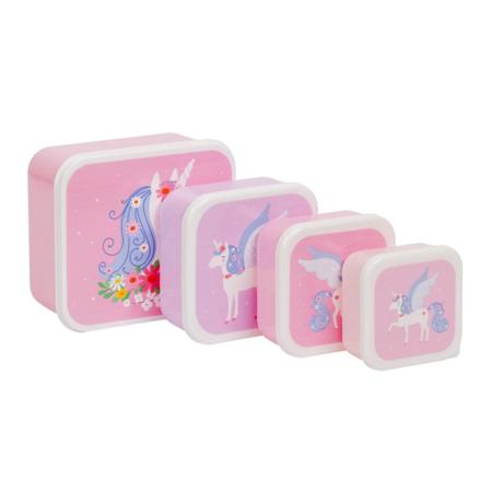 Slika za A Little Lovely Company® Kutijice za užinu i grickalice Unicorn