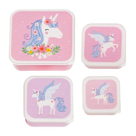 A Little Lovely Company® Kutijice za užinu i grickalice Unicorn